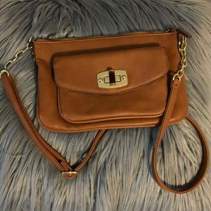 Handbags - Brown Crossbody Bag